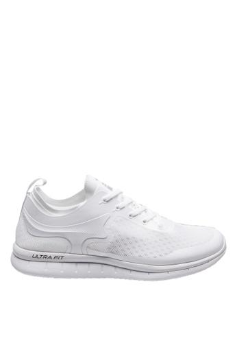 FILA white ULTRA FIT Sport Shoe 504E4SHCF30E37GS_1