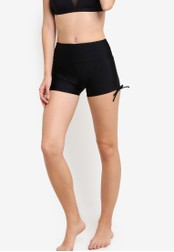 Funfit black Wide Waistband Shorts II in Black (with Keeperband™) FU839US45AJAMY_1