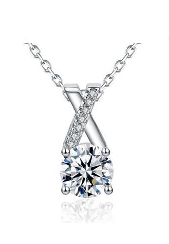 LYCKA silver LPP88061 S925 Silver Necklace 46957AC8E34297GS_1