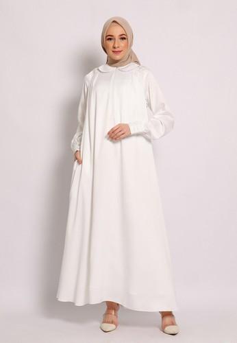 Yumnasa.id white Yumnasa.id LUNARIA Dress 2CB24AA56D8454GS_1