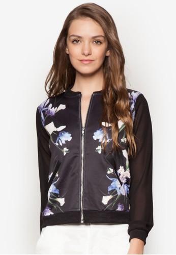 Ikebana 花卉棒球外套, 服飾esprit outlet 桃園, 外套