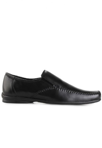 Gino Mariani black Gino Mariani Men's Leather Shoes ORION - BLACK BE549SH1AB5308GS_1