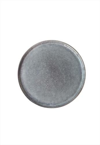 Your Lagom grey Grey Speckled Ceramic Plate 25B3AHLFBFA934GS_1