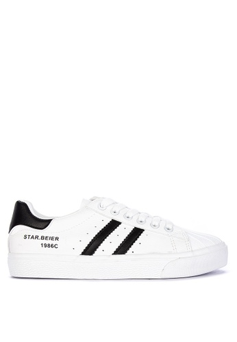 Appetite Shoes white Lace Up Sneakers E927CSHAF068E8GS_1