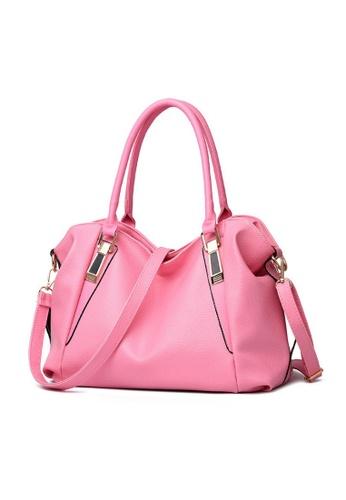 TCWK pink TCWK Women Fashion Ladies Handbag - pink 31A7DAC4CA37FAGS 1 a7a8ccaa06e28