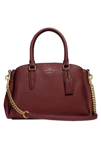 Coach red Mini Sage Carryall Bag (cv) C4243AC4055E5DGS_1