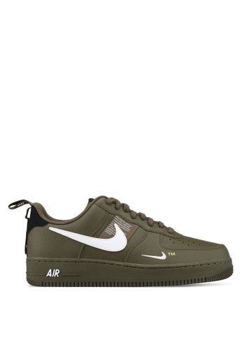 Nike green Air Force 1 '07 Lv8 Utility Shoes 800D3SH4460CD3GS_1