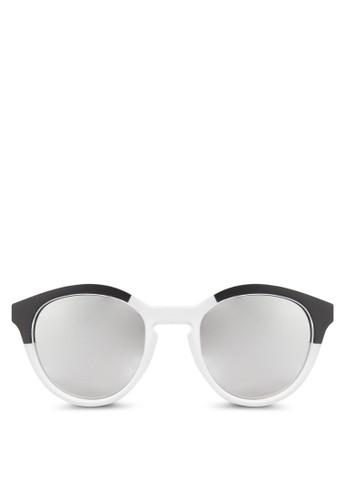 JP0268 撞色圓框太陽眼鏡, 飾品配件, 飾品配esprit門市地址件