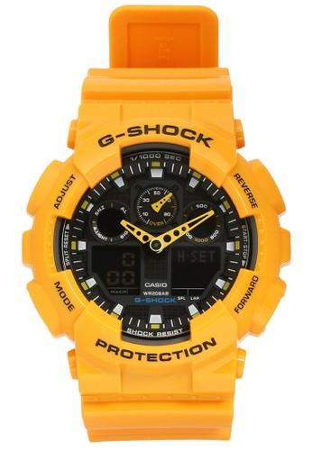 Jual G-Shock Casio G-SHOCK Jam Tangan Pria - Yellow - Resin - GA ... 37ad55ef67