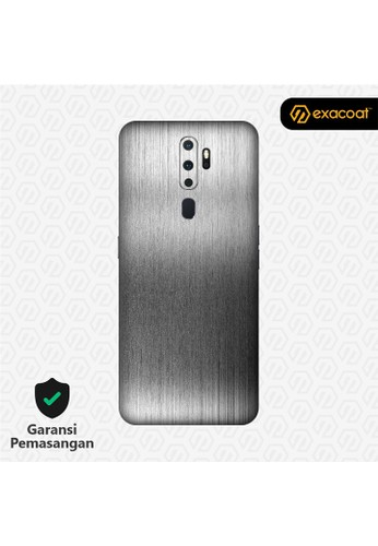 Exacoat Oppo A5 (2020) / A9 (2020) 3M Skins Titanium Series - Titanium Onyx D32ADES7BE05A0GS_1