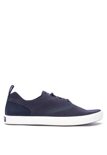 Sperry navy Flex Deck CVO Sneakers 1B155SHE2672F4GS_1