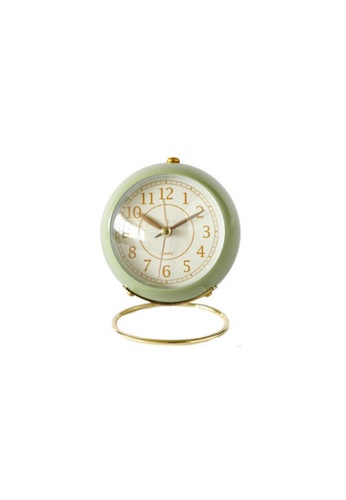 DILAS HOME Eloise Vintage Alarm Clock (Green) 33039HL219523BGS_1