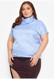 285fddcf47a Plus Size Charlize Cowl Neck Blouse DF2A6AAEFD60AEGS 1