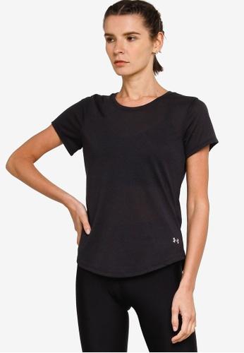 Under Armour 黑色 UA Streaker Run Short Sleeve T-Shirt 3DE08AA4139E95GS_1