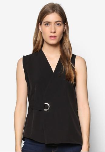 Janelle esprit旗艦店金屬孔裹飾無袖上衣, 服飾, 上衣