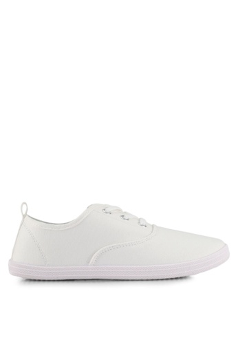 ONLY white Seline Plain Sneakers B5256SHEFF4E6FGS_1
