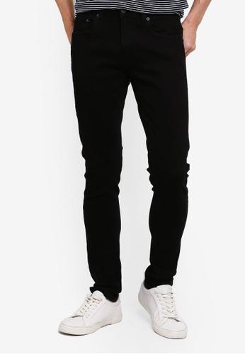 Electro Denim Lab black Calypso Slim Tapered Jeans FDA2FAA6B120E7GS_1