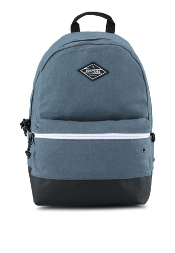 Rip Curl blue Mood Canvas Backpack RI364AC0S7O7MY_1