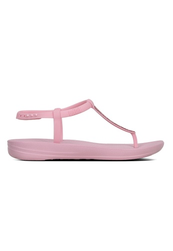 c68eb5073edb9b FitFlop pink Fitflop Iqushion Splash Sparkle (Pink Nectar)  B13A9SHCC1D49EGS 1. CLICK TO ZOOM