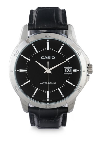 CASIO black Men Analog Watches Mtp-V004L-1Audf 47269ACADB0AB3GS_1