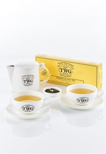 TWG Tea Spa at Home Teabag Kit (Jasmine Queen Tea) 015DCES80E9C66GS_1