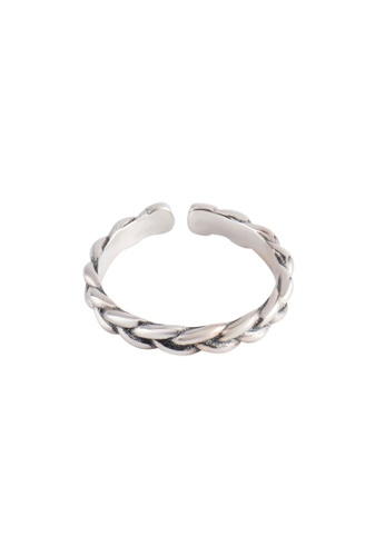 A-Excellence silver Premium S925 Sliver Wheat Ring F9D9FAC78FEB25GS_1