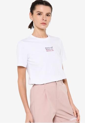 361° white Sports Life Short Sleeve T-Shirt 06FCEAA7ADF341GS_1