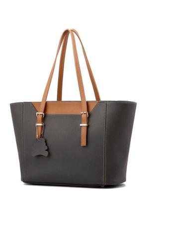 TCWK grey Ladies Shoulder Bag TC258AC16LOPMY_1