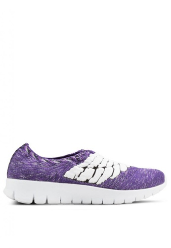 F-KNIT purple Ladies Slip-On Wings FK273SH61GKGHK_1