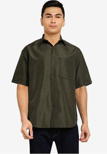 niko and ... green Woven Shirt 59952AA7118398GS_1