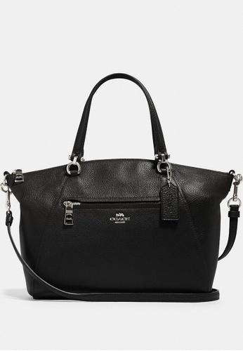 Coach black Coach Prairie Satchel Bag - Black F86A1ACC7B91D7GS_1