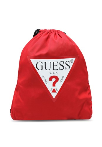 GUESS red Guess Active- Drawstring Backpack EA134AC526C6C5GS_1