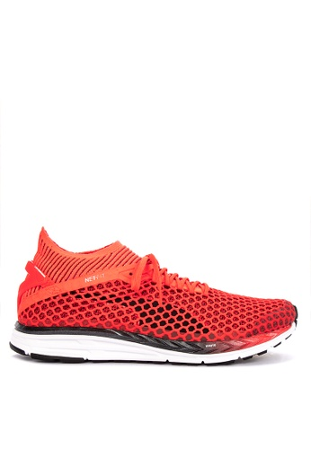 Puma red Speed Ignite Netfit 2 Training Shoes 341C6SH2CB5E4AGS_1
