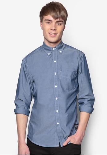 牛津長袖襯衫, 服飾, 素色esprit 西裝襯衫