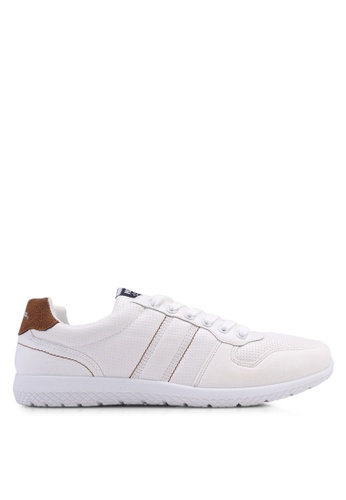 North Star white Lace Up Sneakers 43875SH4F80F13GS_1