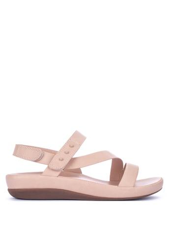 6db9238d103 Shop CLN Strappy Flat Sandals Flats Online on ZALORA Philippines
