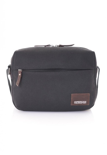 American Tourister black American Tourister Hatton Shoulder Bag AM536AC23AMESG_1