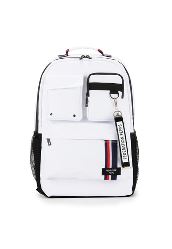 Peeps black and white and multi Magnum Backpack 725E9ACA551AF4GS_1