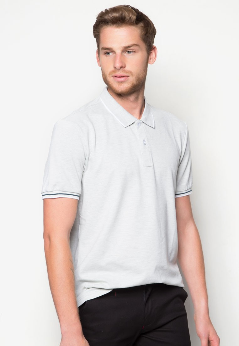 Basic Tipping Polo Tee