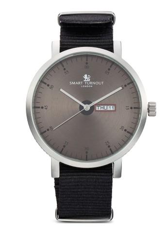 City 紡織錶帶圓框手錶, esprit專櫃錶類, 飾品配件