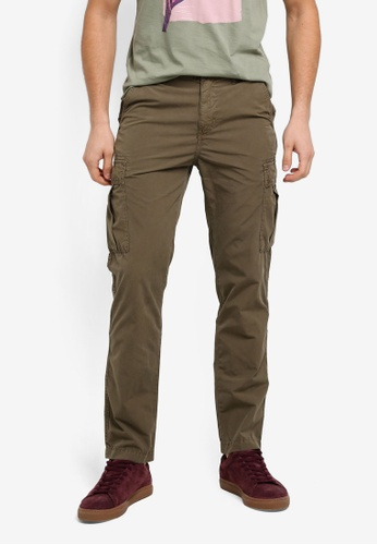 BOSS green Tapered Cargo Pants - Boss Casual D1F6EAA4646BAEGS_1