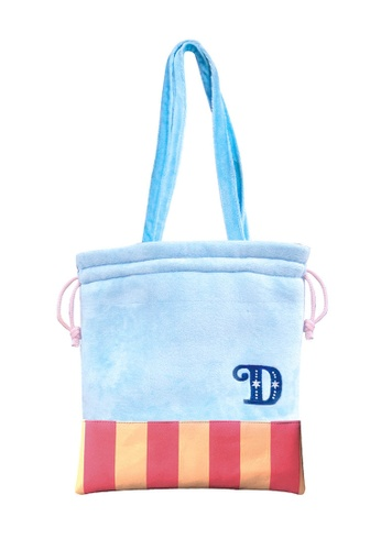 NEW Dumbo Crossbody Purse Made of Faux Leather w// Drawstring /& Shoulder Strap