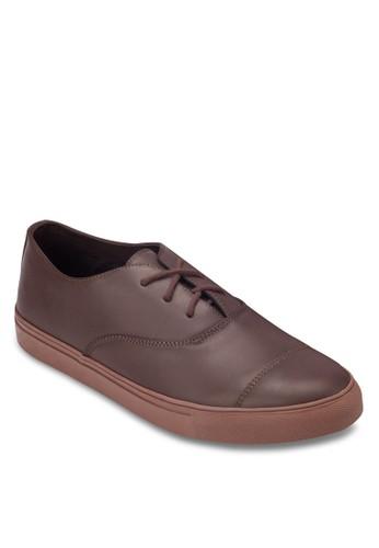 簡約繫帶厚底運動鞋,esprit tw 鞋, 休閒鞋