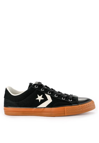Converse black and multi Star Player 07967SH787BF21GS_1