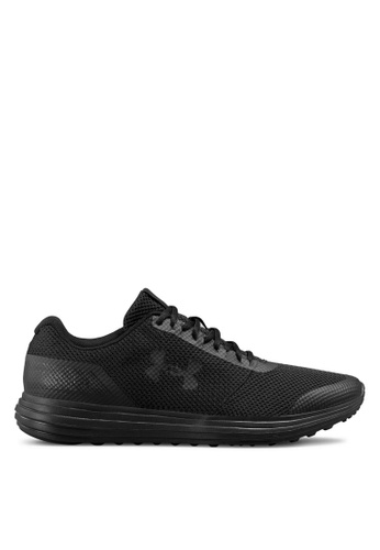 Under Armour black UA Surge Running Shoes C44DCSHF4C9A53GS_1