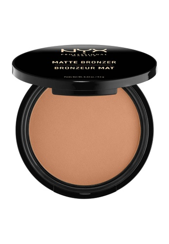NYX Professional Makeup brown NYX Professional Makeup Matte Bronzer - LIGHT B7A6ABE14D6BEBGS_1