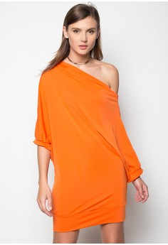 Kassandra One Shouldered Dress