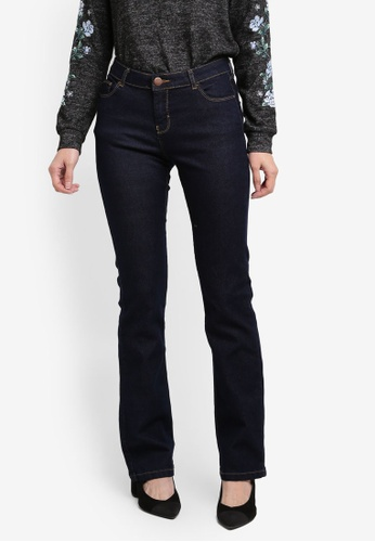 Dorothy Perkins blue Regular Bootcut Jeans DO816AA0T04RMY_1
