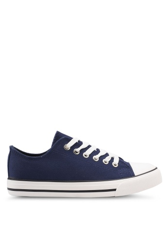 Rubi navy Jodi Low Rise Sneakers 928A4SH758A5C0GS_1