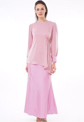 Kurung Michiko from Jameqha in Pink